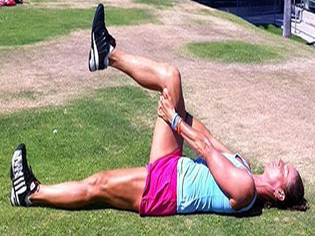 abusar dos músculos durante os treinos